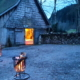 Henslerhof kleine Scheune im Winter