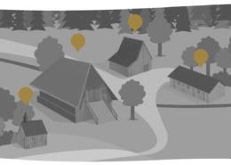 Henslerhof Übersicht Karte