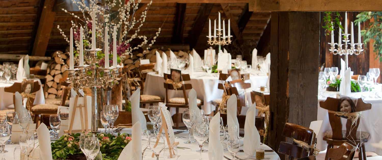 Hochzeiten auf dem Henslerhof