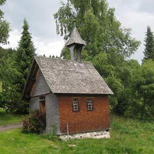 kleine Kapelle auf dem Henslerhof
