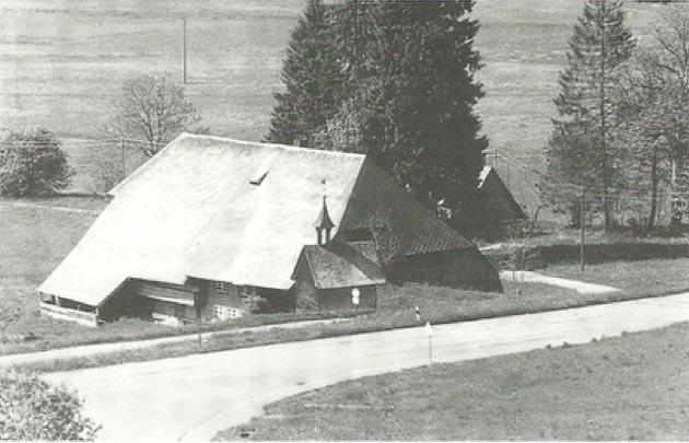 der Henslerhof vor der Renovierung